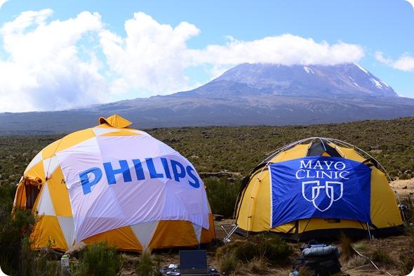 Tentes de Kilimanjaro