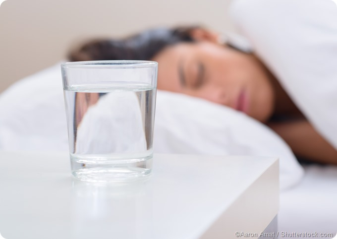 Bevanda di acqua bedtable