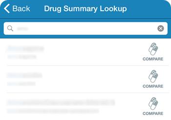 Drug Look-up PDR