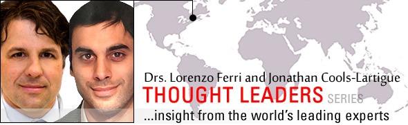 Lorenzo Ferri and Jonathan Cools-Lartigue ARTICLE IMAGE