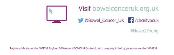 Bowel Cancer UK contact information