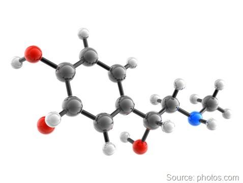 adrenaline molecular structure
