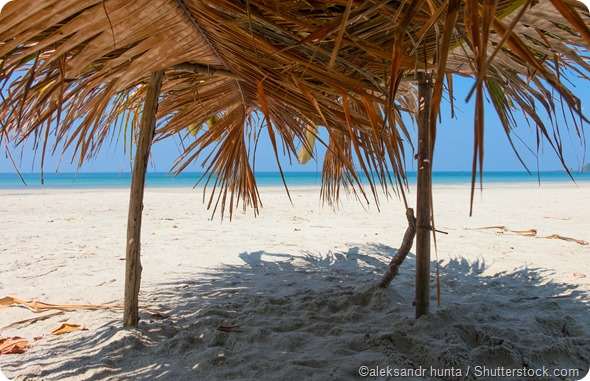beach shade shelter
