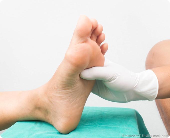 foot pain diabetic neuropathy