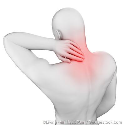 neck pain animation