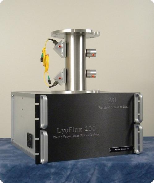 Monitor do caudal da massa do vapor de água de LyoFlux® 200