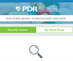 Using the mobilePDR App to Search Drugs and Interactions