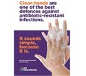 NPS MedicineWise recommends regular hand washing to stop spread of bacterial infections