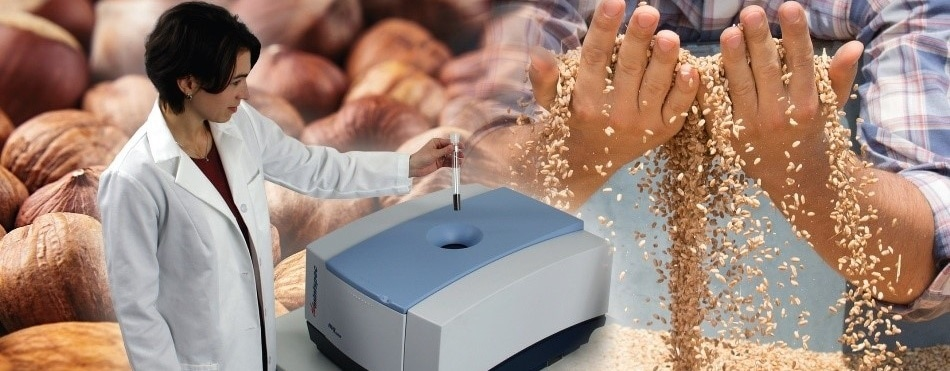 minispec TD-NMR Analyzer for Determining Oil and Moisture in Seeds and Nuts