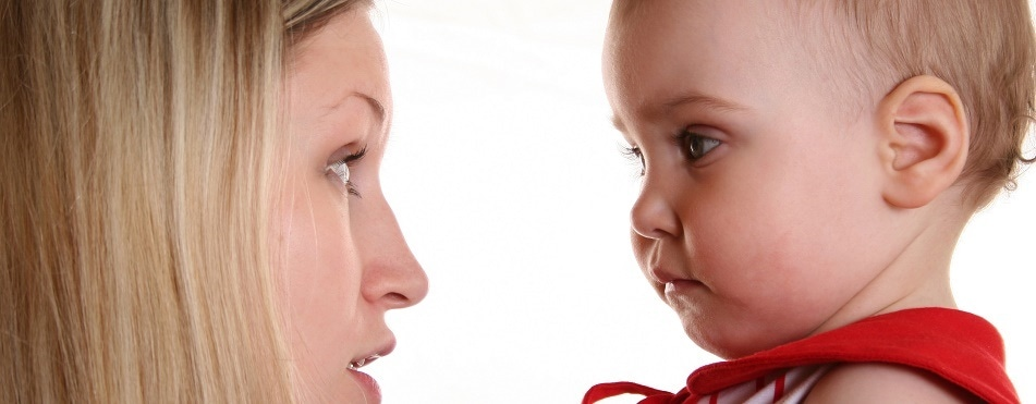 Why do children with autism make less eye contact?