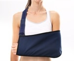 Non-operative treatment with a sling yields the same results as surgery for shoulder fractures