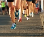 Cardiac stress caused by a marathon associated with relative exercise intensity