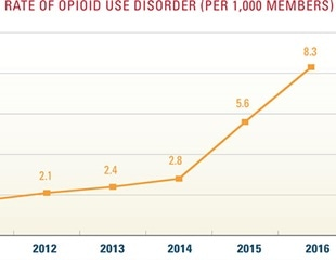 Opioid use disorder rises with little being done to curb the menace says new study