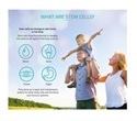 Infographic displays facts and information about stem cells, cord blood