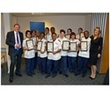 Student nurses celebrate achievements at University of Bolton