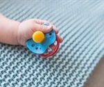 Sucking your baby's pacifier could improve their health