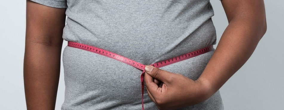 Many people at risk of heart disease and stroke have excess abdominal fat