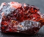 Scientists say cavities within garnet appear to be formed by microbes