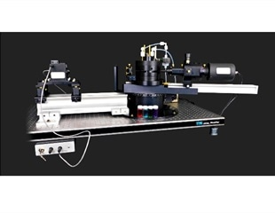 Research grade goniometer system to measure light scattering