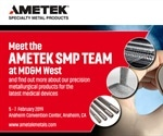 AMETEK SMP to exhibit at MD&M West 2019
