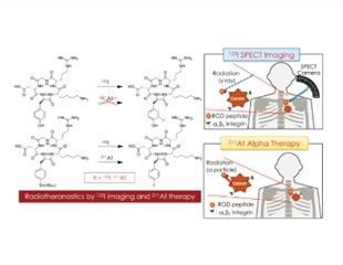 Promising radioisotope couple for cancer diagnosis and therapy