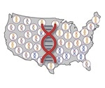 Native American DNA is still carried by descendants of early Europeans and Africans in the U.S.