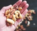 Eating more nuts lowers risk of weight gain and obesity
