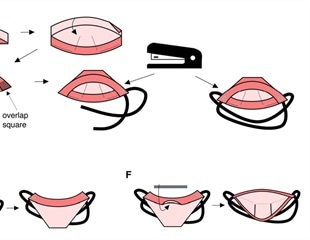 An effective Origami mask for COVID-19