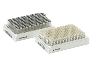 Micronic offers new 96-well format Push Caps for external thread tubes