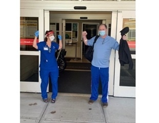 100th COVID-19 patient discharged from St. Luke's Anderson Campus