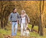 Benefits of Dog Walking in Older Adults