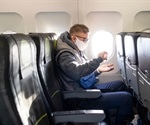 COVID-19 risk halved when airplane middle seats empty, expert statistician says