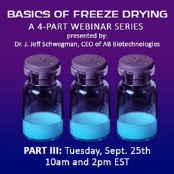 2018 Basics of Freeze Drying - Part III