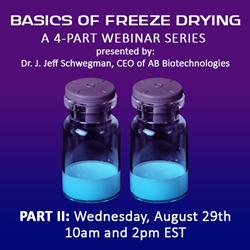 2018 Basics of Freeze Drying - Part II
