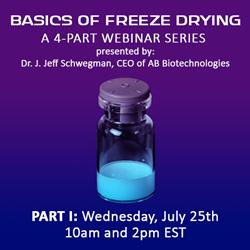 2018 Basics of Freeze Drying - Part I